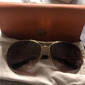 Lightly used, Tory Burch sunglasses!